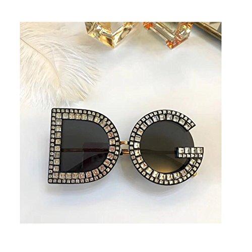 day spring online shop Mode Sonnenbrillen damen herren Crystal Details Dolce & Gabban a DG6121B DG Sunglasses -black