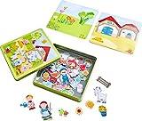 HABA 301951 Magnetspiel-Box Peters und Paulines Bauernhof, Kleinkindspielzeug