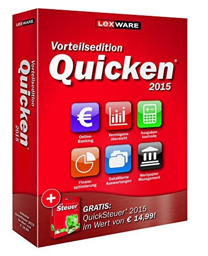 Produktbild Lexware Quicken 2015 Vorteilsedition