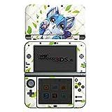 Nintendo New 3DS XL Case Skin Sticker aus Vinyl-Folie Aufkleber Blaue Katze Cat Kitty