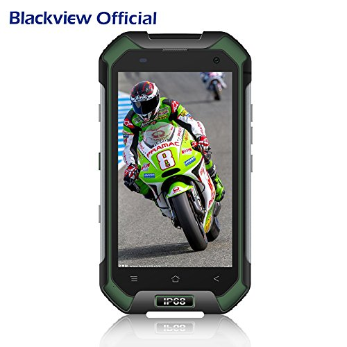 Blackview BV6000 4.7 pulgadas Smartphone Reforzado ip68 teléfono a prueba de golpes / resistente / a prueba de agua con doble SIM 4G LTE, 3GB 32GB RAM + ROM, batería 4500mAh, cámara 13MP + 5MP, GPS / NFC / huella digital, Verde
