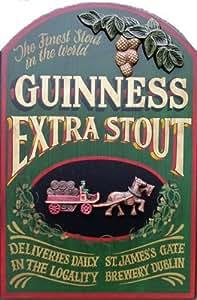 Guinness.Horse &Panneau de golf