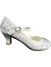 Zapatos plateado Spot On infantiles 4P6ZCvM1