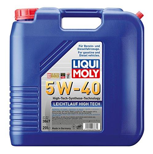 Liqui Moly 3867 20L Leichtlauf High-Tech-Synthese Motoröl 5W-40