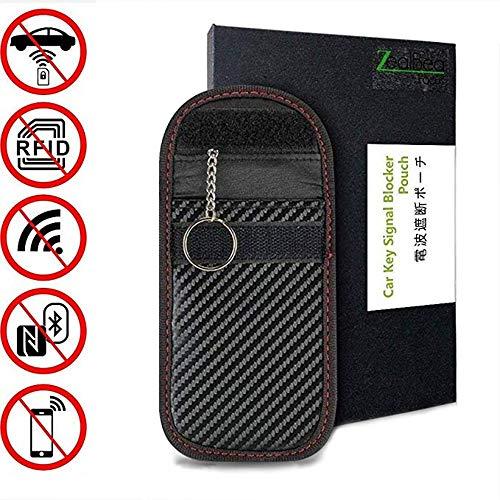 ZealBea Focus Car Key Signal Blocker Pouch, Bolsa Bloqueo RFID para Ll