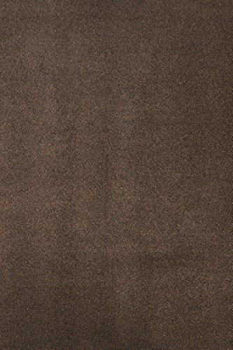 havatex Teppich Melange Frieze Athen - und schadstoffgeprüft | robust pflegeleicht und schmutzresistent | Küche Wohnzimmer Schlafzimmer Spielzimmer Kinderzimmer, Farbe:Braun, Größe:160 x 240 cm