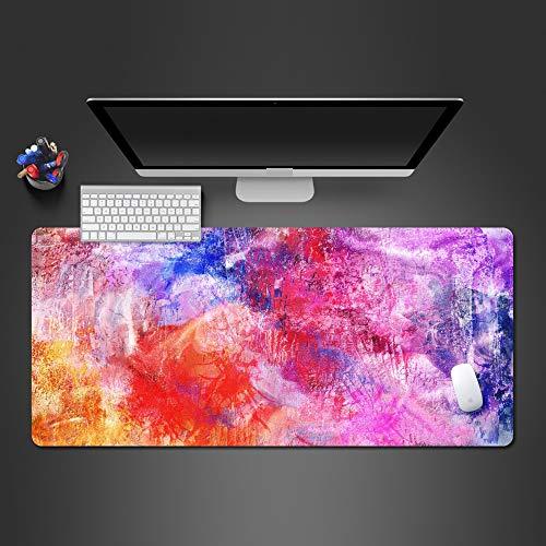 Farbe abstrakte Linie Buddha Kunst Mauspad hochwertige waschbare Spiel Mauspad Computer Tastatur Pad Spiel Kunst Mauspad 700x300x2 -