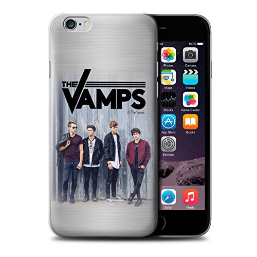Offiziell The Vamps Hülle / Case für Apple iPhone 6S / Pack 6pcs Muster / The Vamps Fotoshoot Kollektion Gebürstetes