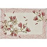 Sander Frühjahr 2019 Gobelin Tischläufer/Tischband Magnolia Garden, 32x96 cm, Farbe 05- rosa