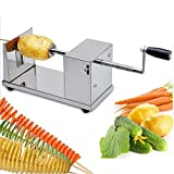 Potato Slicer Cutter Machine Twister Curly Spiral French Fry by Drake