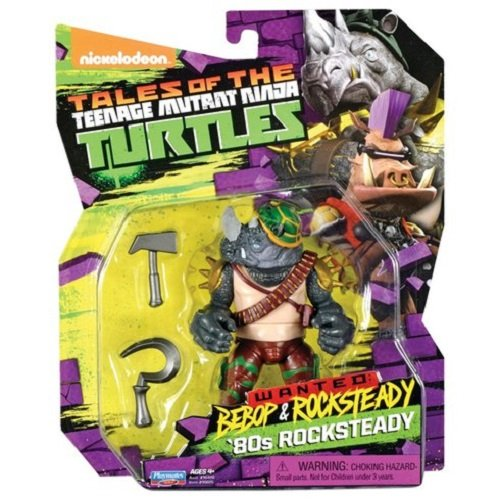 Turtles Action Figuren Rocksteady in 80 's gewandungen (Teenage Mutant Ninja Turtles Ratte)