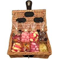 sugar free sweet hamper gift basket perfect xmas confectionery present for diabetics him or