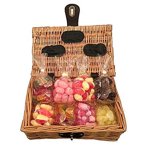Sugar Free Sweet Hamper Gift Basket - Perfect Confectionery Present for Diabetics, Him or Her, Husband or Wife, Boyfriend or Girlfriend, Son or