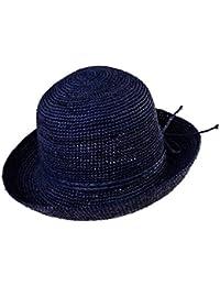 Sombreros Mujer Rafi en Sombrero Verano de Paja Sombreros de Playa Grande  Sombrero Plegable Sombreros de dc25bfc9ed0