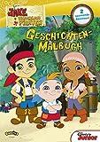 Jake und die Nimmerland Piraten - Geschichten-Malbuch: 2 spannende Abenteuer