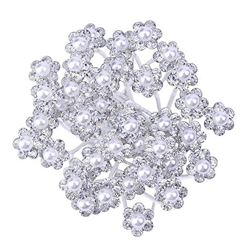 Cdet 20Pcs Bridal Women Hair Cli...