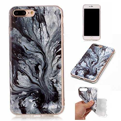 GR Apple IPhone 7 Plus Case Marbling Texture Soft TPU Cover Slim Ultra Thin Anti-Kratzer Schock Absorption schützende Rückseite Cover Shell ( Color : J ) G