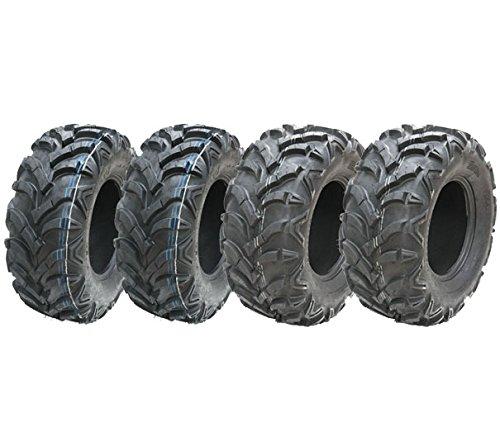 Quality-handling 4-Quad Reifen 2-24x 10-114ply ATV Reifen & 2-24x 8-114ply Wanda ATV P341
