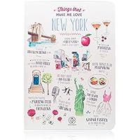 "Lovely Streets WOA02905 - Libreta, diseño ""Things that make me love New York"", multicolor"