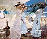 Am Meer 2019: Kunstkalender mit Bildern vom Strand und Meer. Großer Wandkalender mit Werken von Joaquim Sorolla. Querformat: 55 x 45,5 cm, Foliendeckblatt