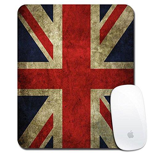 Holoen Spiel Mausunterlage Gewerkschafts Jack Weinlese BRITISCHE Flagge Anti-Rutschgummi Mousepad