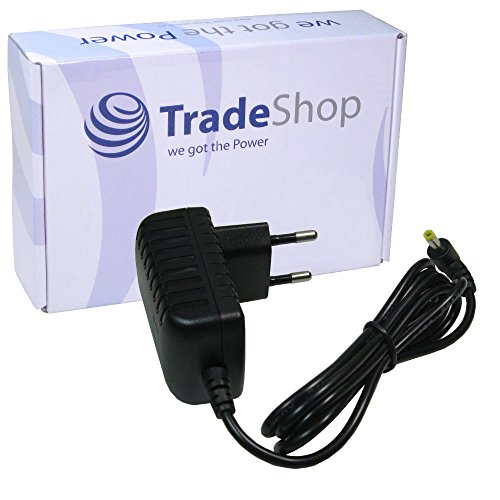 Trade-Shop Premium 6V Netzteil Ladegerät Ladekabel Adapter ersetzt S(6024HW5SW) für Medisana Omron Blutdruckmessgerät 3 5 7 10 60100H706S 60120HW5SW 60120HW5SW Type HEM-AC-H 60220H706S