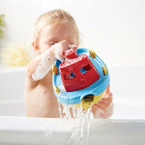 Imagen para Green Toys- Bote Remolcador (Rojo), (TUG01R-R)