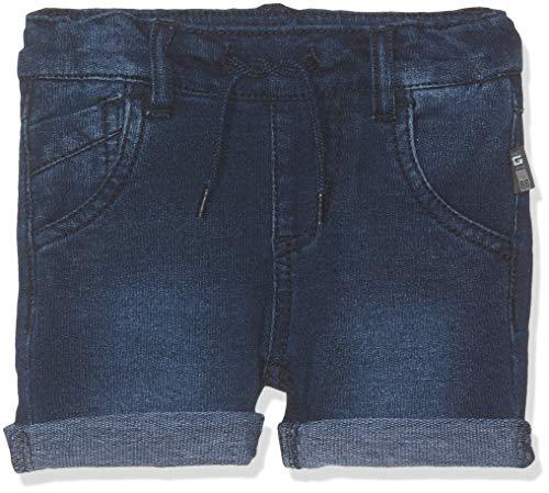 Name IT NOS Baby-Jungen Shorts NMMSOFUS DNMTATO 3159 Long NOOS, Blau (Dark Blue Denim), (Herstellergröße: 86)