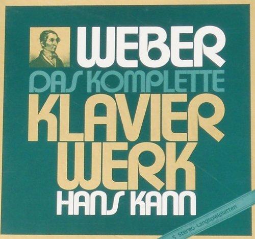 Carl Maria von Weber Das komplette Klavierwerk (VINYL-BOX) (Kann Vinyl Box)