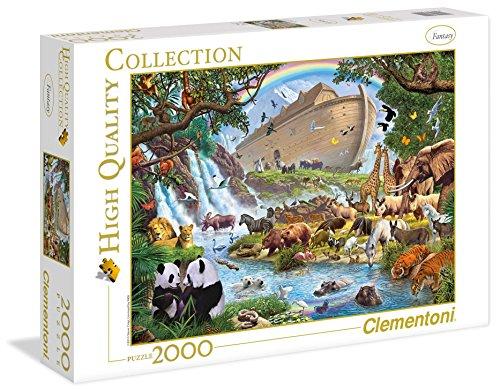 Clementoni 32550 - Puzzle L'Arca Di Noè, 2000 pz.