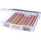 Unbekannt ArtBin Stahl Essentials Box mit Griff, transluzent