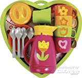 Gowi Toys Heart Service Set (Pink) - 18 Pieces