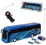 New Ray Iveco Bus Blau Tourist Reisebus 27 MHz RC Funkauto - inklusive Batterien - sofort startklar 1/43 Modell Auto mit individiuellem Wunschkennzeichen