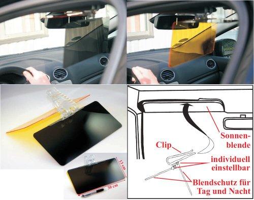Auto Blendschutz für Tag und Nacht