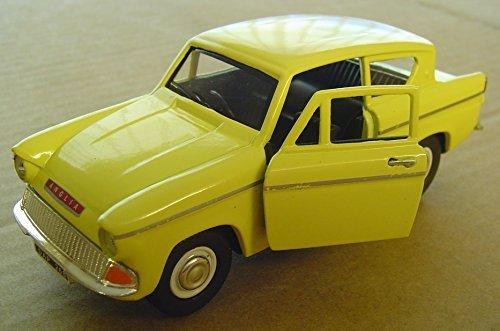 132nd Scale Ford Anglia - Yellow & Ford Anglia: Amazon.co.uk markmcfarlin.com