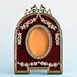 Rosso smaltato semicircolare russo Royal cornice - Best Reviews Guide