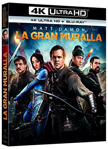 La Gran Muralla 4K UHD + BD [Blu-ray]