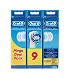 Oral-B Precision Clean, 6 + 3 Testine, Confezione da 9, multicolour, 2013