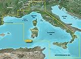 Garmin BlueChart g2VEU012R-Carte de la mer Tyrrhénienne