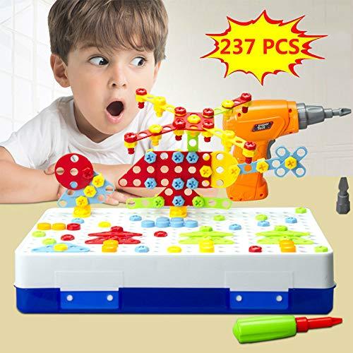 Diseño Taladro Puzzle Juguetes Creativos - Eléctrico