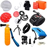 Best Tablas de surf GoPro - MADRIDGADGETSTORE® KIT PACK ACCESORIOS DE SURF AGUA MAR Review