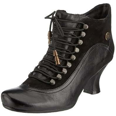 Hush Puppies Vivianna, Women's Ankle Boots, Black (Black Leather), 3 UK (36 EU)