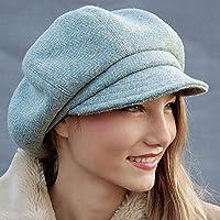 45ca1a08a9688 ZUT hats - handmade blue tweed cap - ZUTami