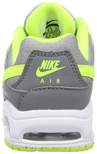 Nike Air Max Command Flex (Td), Chaussures Mixte Bébé Gris (Cool Grey / Volt-Wolf Grey)