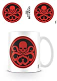 Set: Les Agents Du SHIELD, Symbole De Hydra Tasse À Café Mug (9x8 cm) + 1x Sticker Surprise 1art1®
