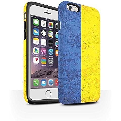 STUFF4phone Case/Cover/Skin/ip6s-3dtbm/banderas colección Ukraine/Ukrainian