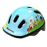 meteor® Fahrradhelm MV6-2 Kinder & Jugendhelme: Radhelm für Radfahrer Radsport; für Hoverboard, Inline-Skate, BMX Fahrrad, Scooter. Entwickelt für die Sicherheit der jüngsten Benutzer: Der Helm hat eine stufenlos einstellbare Regulierung des Kopfkreislaufs,