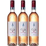 Mademoiselle Comédie 659622 France Bordeaux Vin AOP 750 ml - Lot de 3 2016