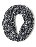 Cecil Damen Schal 570518, Grau (Silver Grey 30987), One Size (Herstellergröße: A)