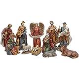 Koopman International b.v. 11tlg. Krippenfiguren Set 20cm Weihnachten Figuren Krippe Christmas Heilig Abend